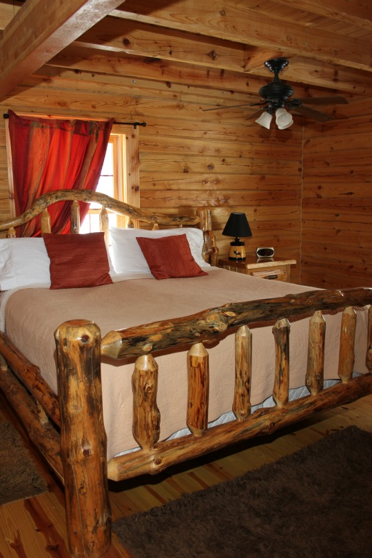 Cabins range from one bedroom to four!