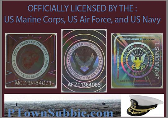 Official Licensee of US Navy, US Air Force, and US Marine Corps