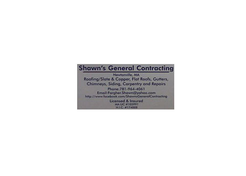Shawn's General Contracting logo