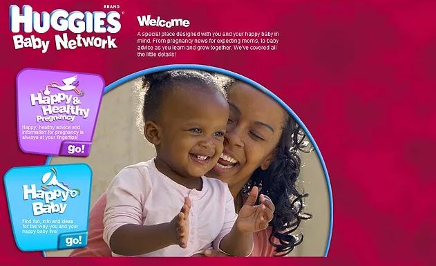 Our Model, Ebony, and her daughter were featured on the Huggies website!