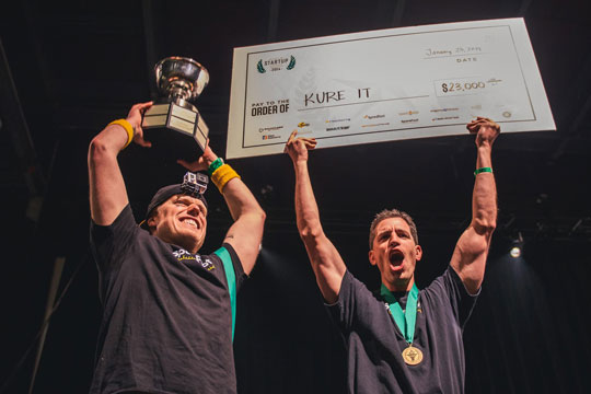 SpareFoot wins 1st place & $23k for Kure It Cancer Foundation