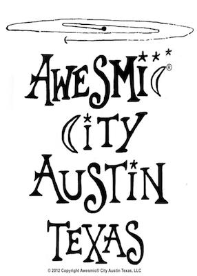 Awesmic City Austin Texas - Center of the Universe