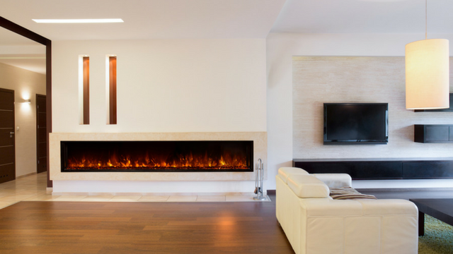 Electric Fireplace for Hotel Lobby