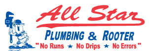 All Star Plumbing And Rooter logo