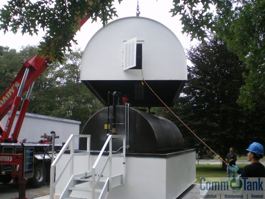 CommTank provides temporary fuel tanks for emergencies or during tank upgrades.