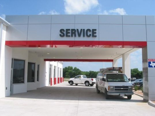 Drive up to our Service Drive to drop your Toyota off for service