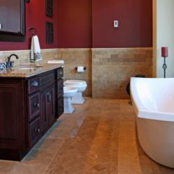Our team at M Gregory Construction is ready to overhaul your bath. From replacing fixtures & sinks, to gutting & remodeling, we get the job done.