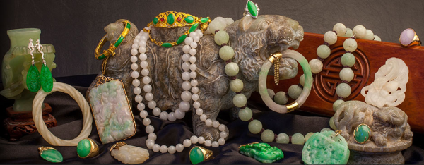 Jade jewelry is popular in Hawaii and has a rich history and symbolic meaning for many cultures around the world. As a jewelry buyer in Honolulu, our technicians look over many beautiful jade pieces each year and our in-house gemologist is trained specific