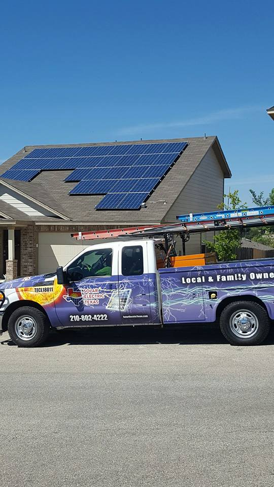 Photovoltaic Solar Panel System from Solar Electric Texas