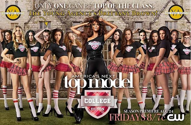 Our Model, Brittany, was on the last cycle of America's Next Top Model!