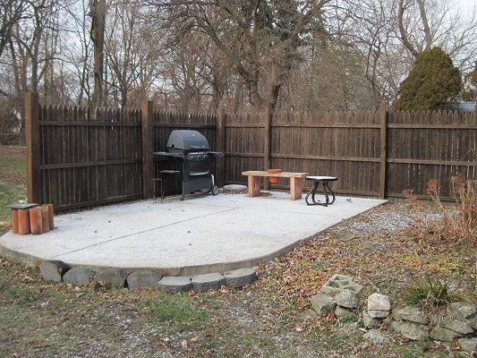 Cement Work - Patio