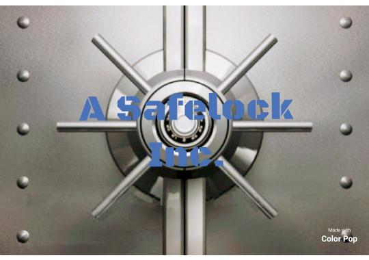 A Safelock, Inc. logo