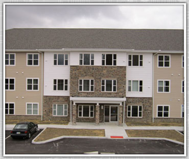 New Construction: Mary Rose Estates / Ground up 40 suite apartment building