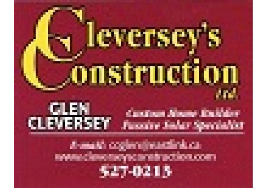 Cleversey's Construction Limited logo