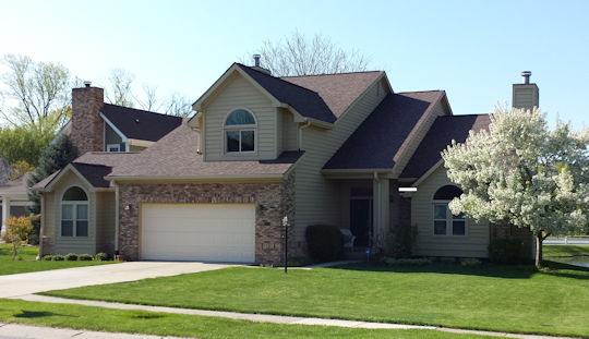 New Roof Installation in Carmel, Indiana