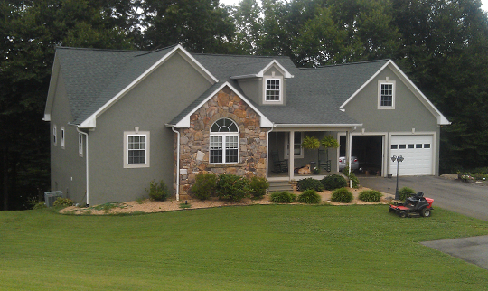one of the homes we've built in Yadkin
