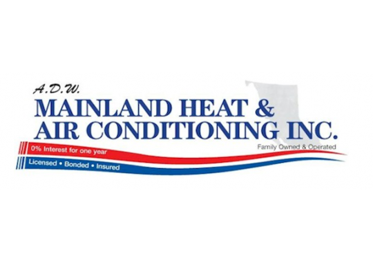 ADW Mainland Heat and Air Conditioning logo
