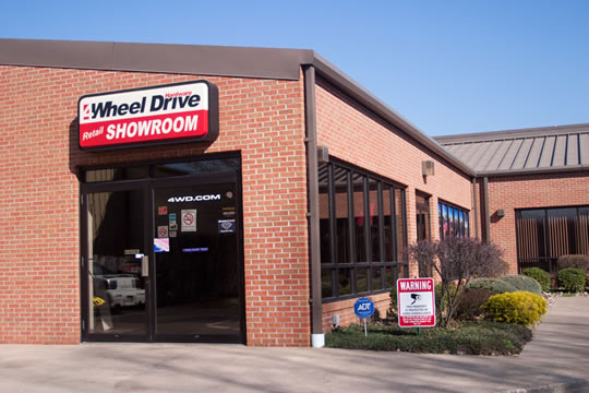 4Wheel Drive Hardware Showroom store front