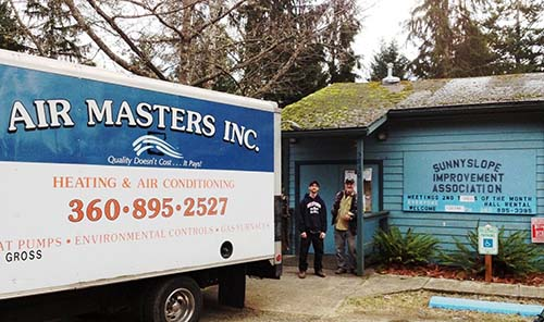 Air Masters Heating Gives Back By Donating A New Furnace To The Sunnyslope Community Center