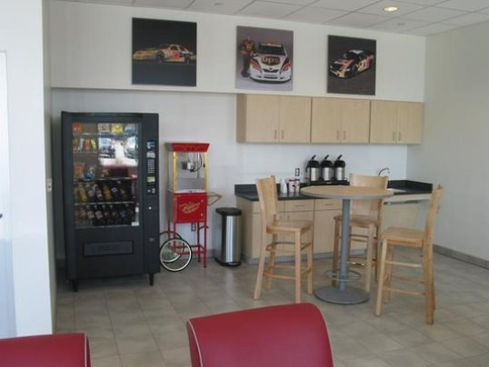 Relax in the customer lounge while your vehicle is in our Service Department