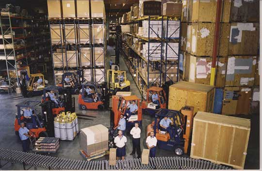 Allstate Moving Systems Warehousing and Distribution