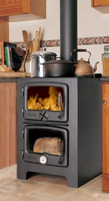 Bakers Oven Wood Burning Cookstove.