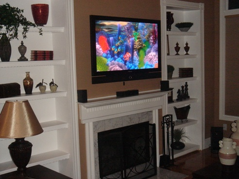 Example of a Home Theater System designed & installed by Rick's Music
