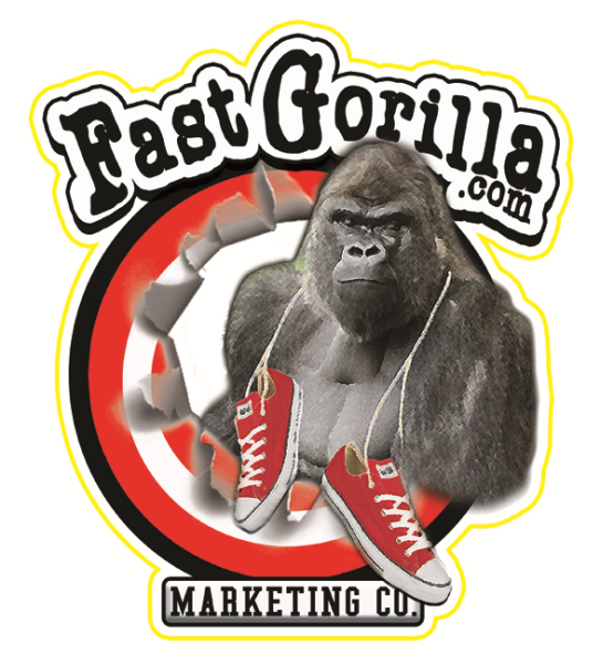 Fast Gorilla Marketing, Design Print and Door to Door flyer delivery in San Antonio, Austin, Dallas, Houston and Corpus Christi, Texas