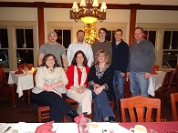 The Clean Team at our 2013 Christmas party!