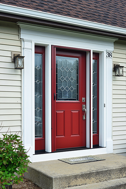 Make a statement with this beautiful and affordably priced door from Provia. 