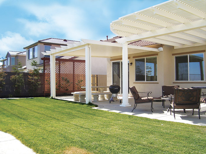 Bring on the shade with a new pergola or patio cover.