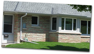 You'll love your custom seamless aluminum gutters!