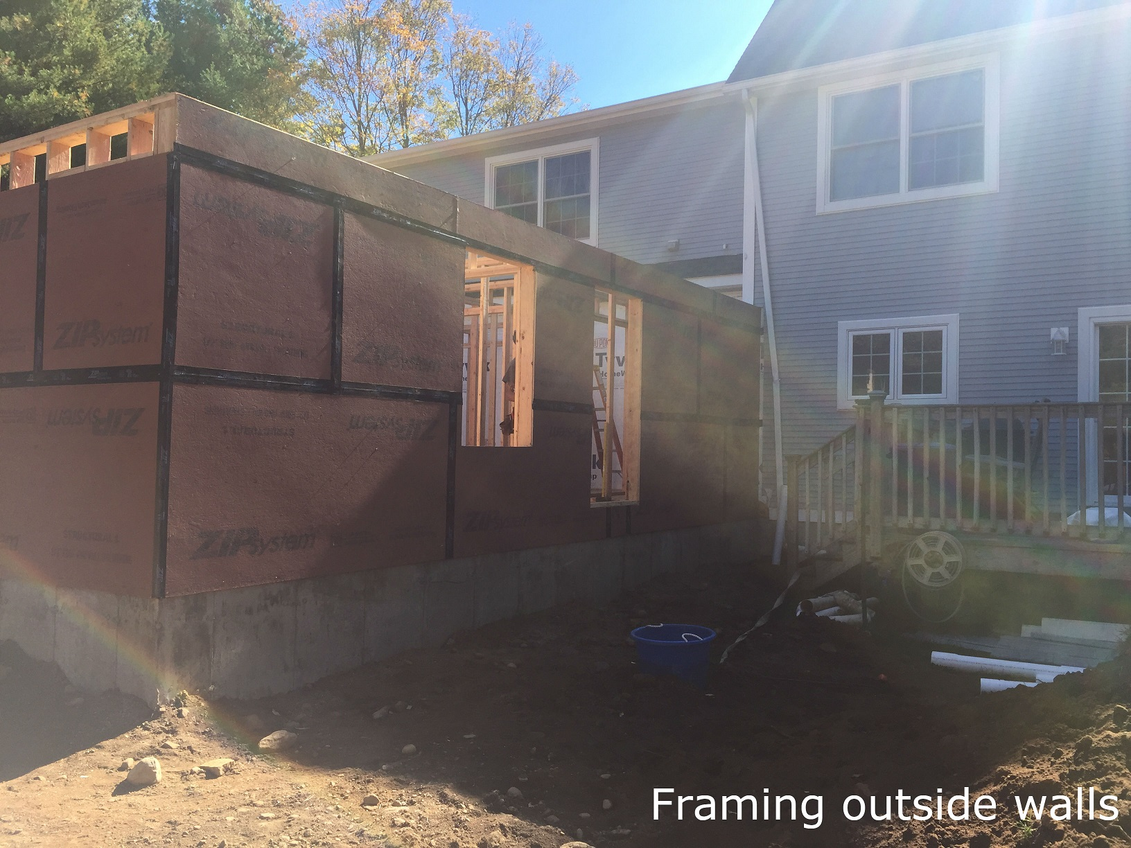Framing for In-Law addition