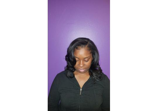 Unique Weave install... natural looking weave