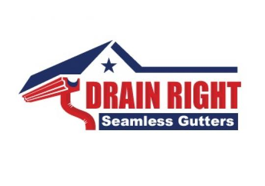 Drain Right Seamless Gutters logo