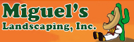 Miguel's Landscaping, Inc. logo