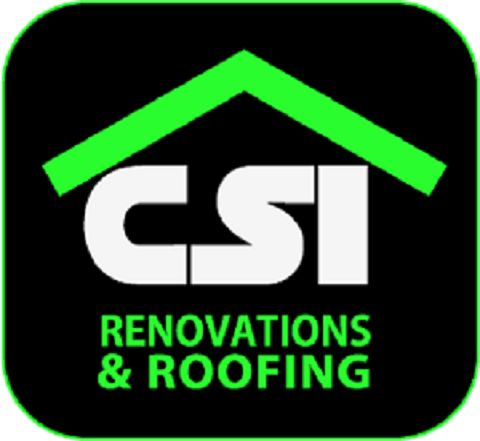 CSI Renovations and Roofing logo