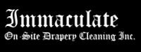 Immaculate On-Site Drapery Cleaning logo