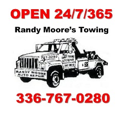 Randy Moore's Towing logo