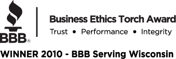 ALLRITE HOME AND REMODELING HAS BEEN AWARDED THE 2010 BBB TORCH AWARD FOR EXCELLENCE IN BUSINESS ETHICS.