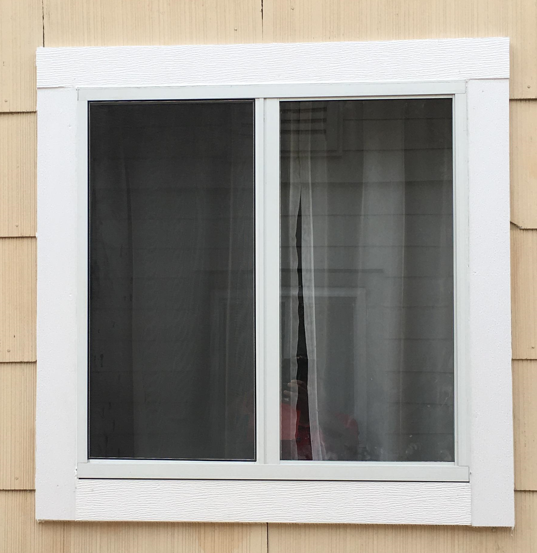 New window after installation