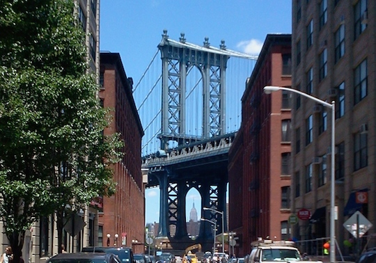 Take of tour of DUMBO (Down Under the Manhattan Bridge Overpass), one of the city's hottest new neighborhoods with incredible views of NY Harbor.  Don't forget the new Brooklyn Bridge Park or a short walk to Fulton Ferry or Brooklyn Heights.
