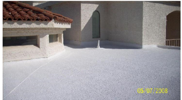 Foam roofing Applications