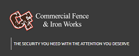 Commercial Fence & Iron Works logo