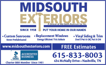 Mid-South Exteriors logo