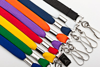 Colored Lanyards available