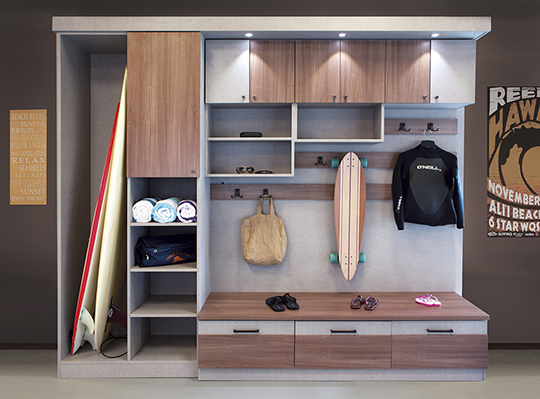 Organize Your Wetsuit, Surfboards, Beach Toys And Swim Equipment. This Is  Our Version