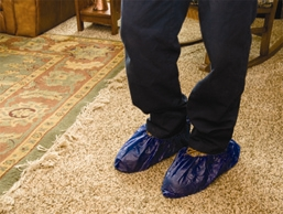We respect your home, so for both installations and repairs we wear shoe covers.