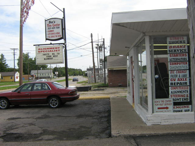 Going East on North Verity Parkway this is the side view of our business