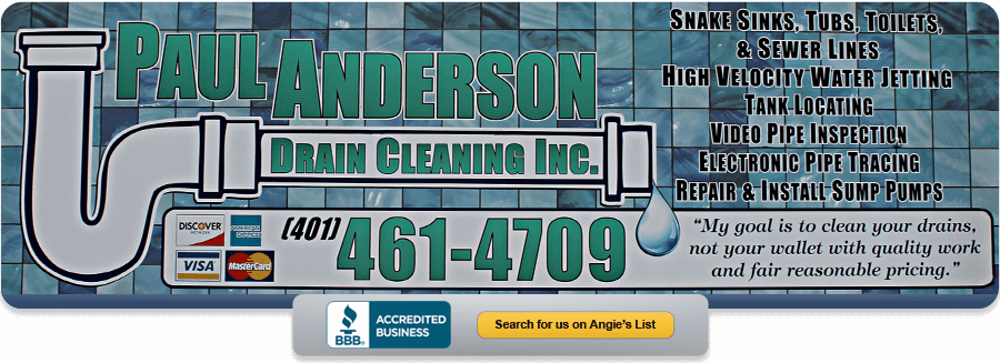 Paul Anderson Drain Cleaning, Inc.
